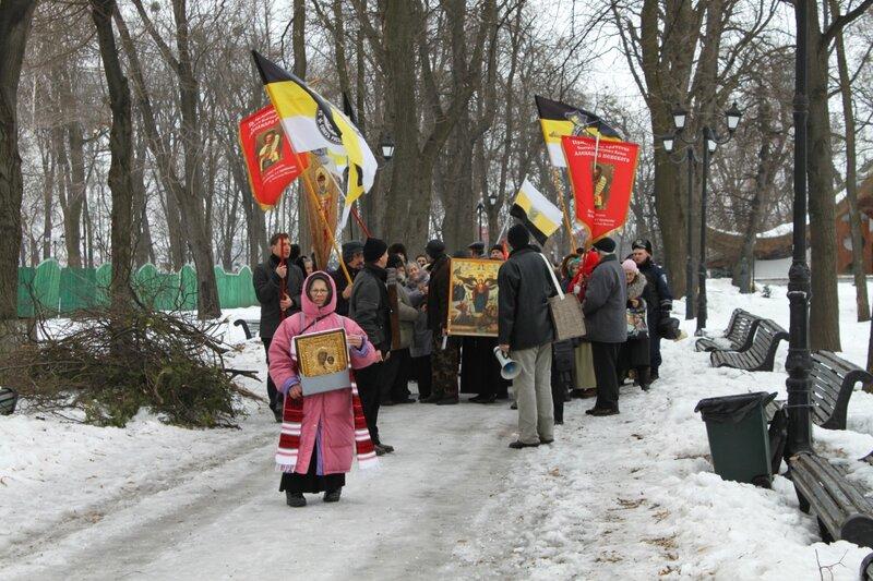 Крестный ход в честь 400 летия Дома Романовых