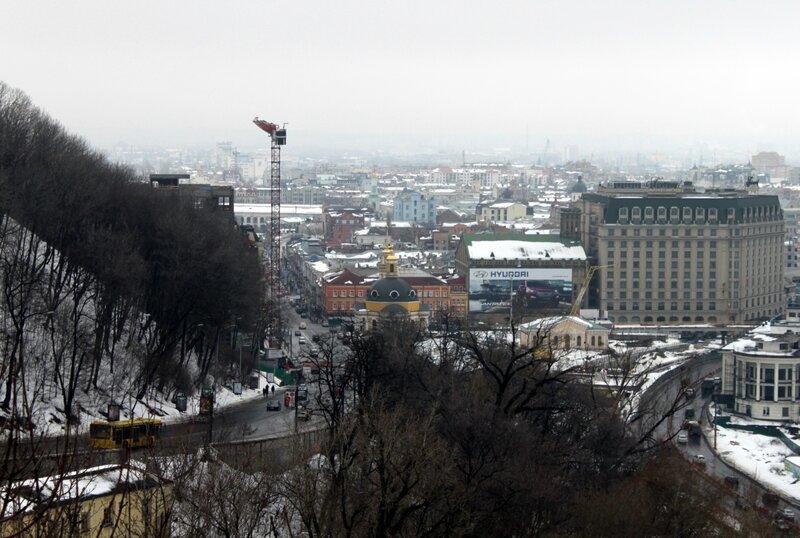Владимирский спуск и Подол