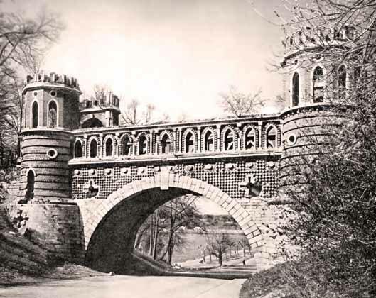 Царицыно. Фигурный мост. Фото А. Александрова.