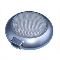 Плафон освещения внутрисалонный, серебристый