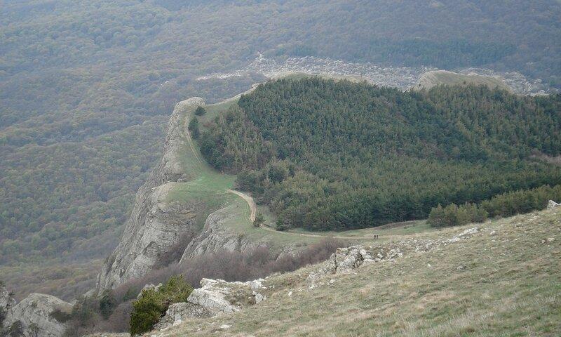 Вид с плато Дерджи