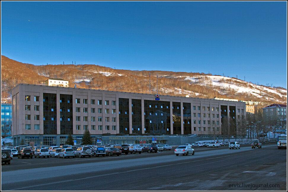 Центральная площадь Петропавловска-Камчатского