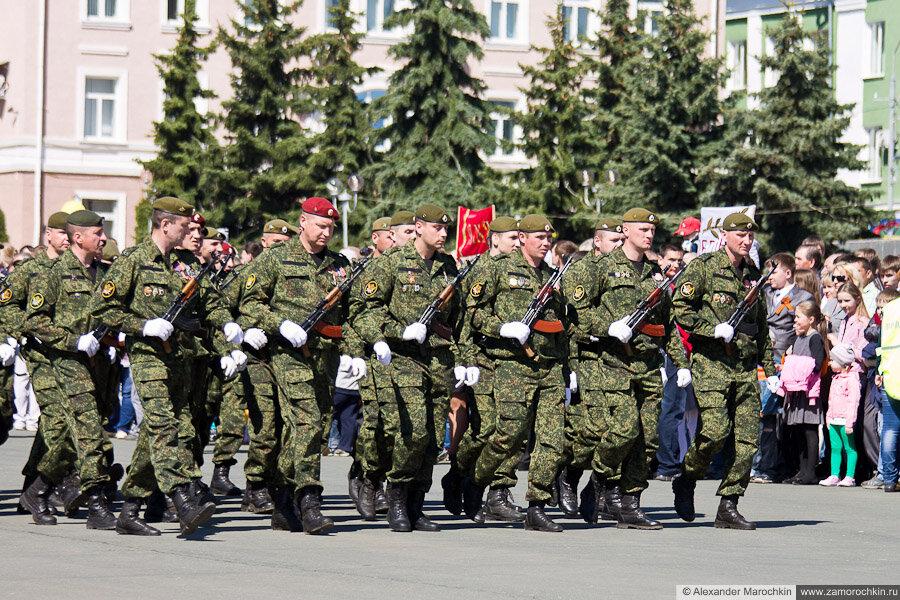 День Победы в Саранске парад
