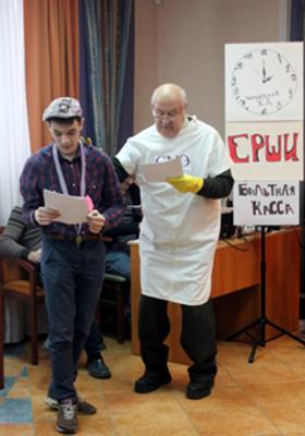 Детектив - Коля Хольнов, Судмедэксперт - Дедушка Леонид Петрович