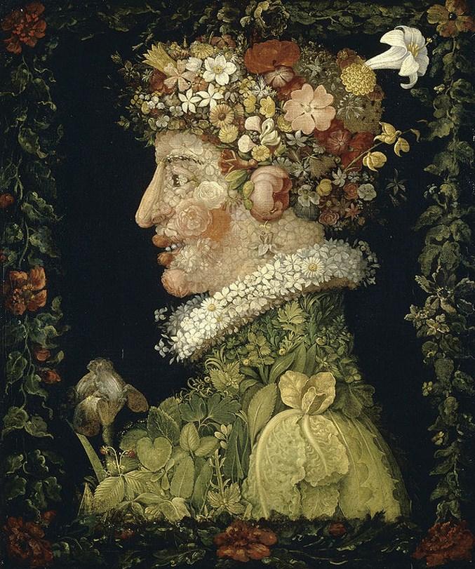 Spring - The Four Seasons by Giuseppe Arcimboldo / Времена года художника Джузеппе Арчимбольдо - Весна
