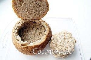 из хлеба вынуть мякиш