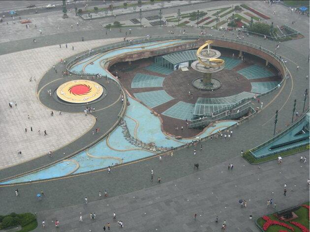 Площадь Тянь Фу (Tianfu Square). Чэнду, Китай