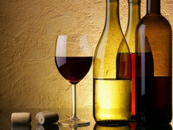 Пунт. Нижняя часть бутылки вина