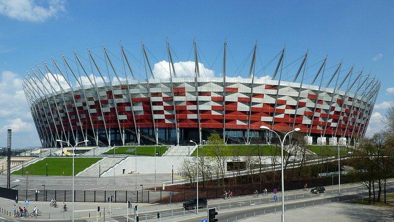 стадион в Варшаве: