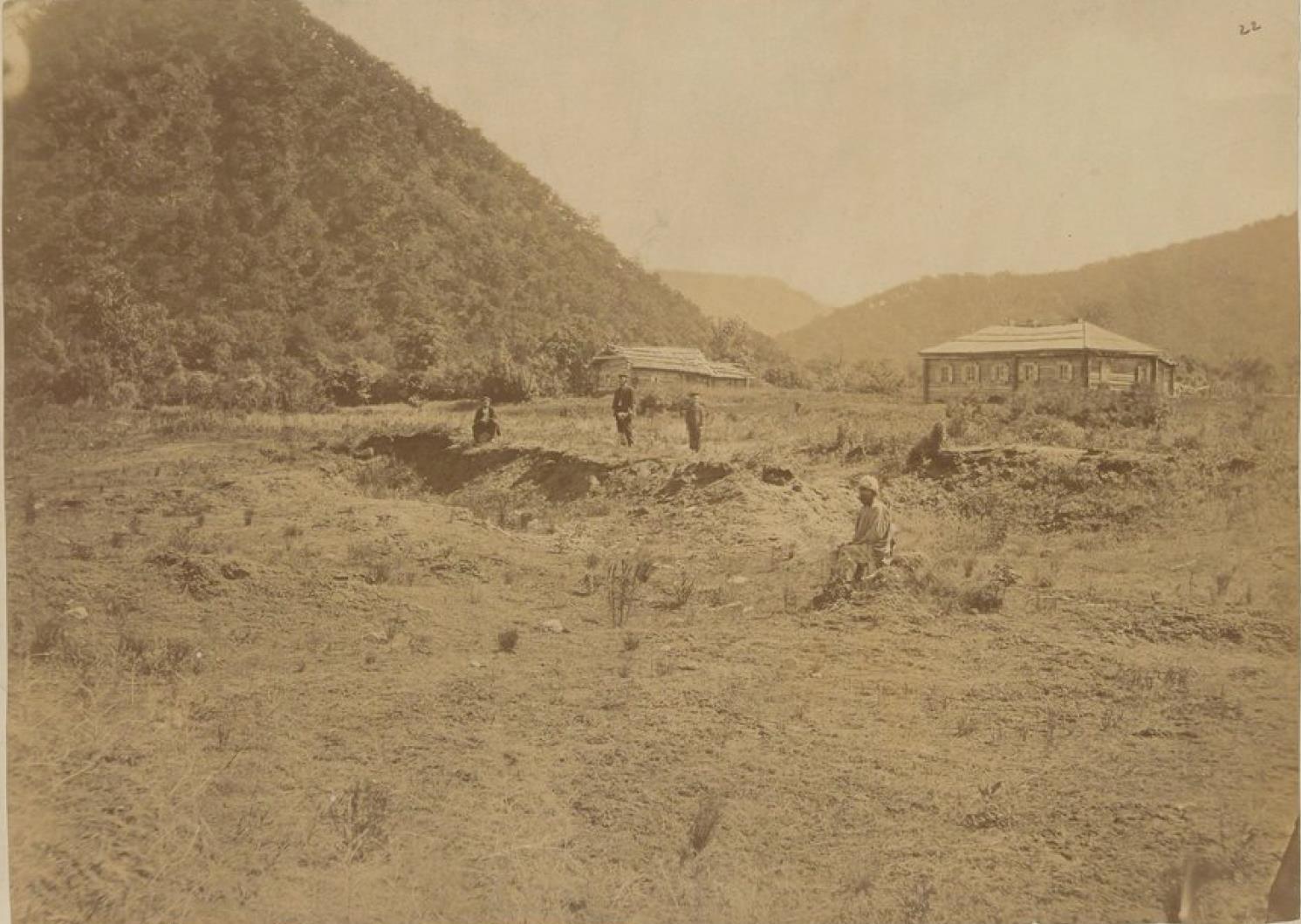 11. Хинганские горы на Амуре. Станция Поликарповка