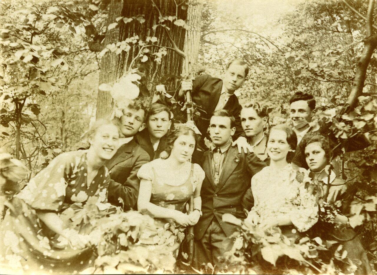 1937 г. Выпускники