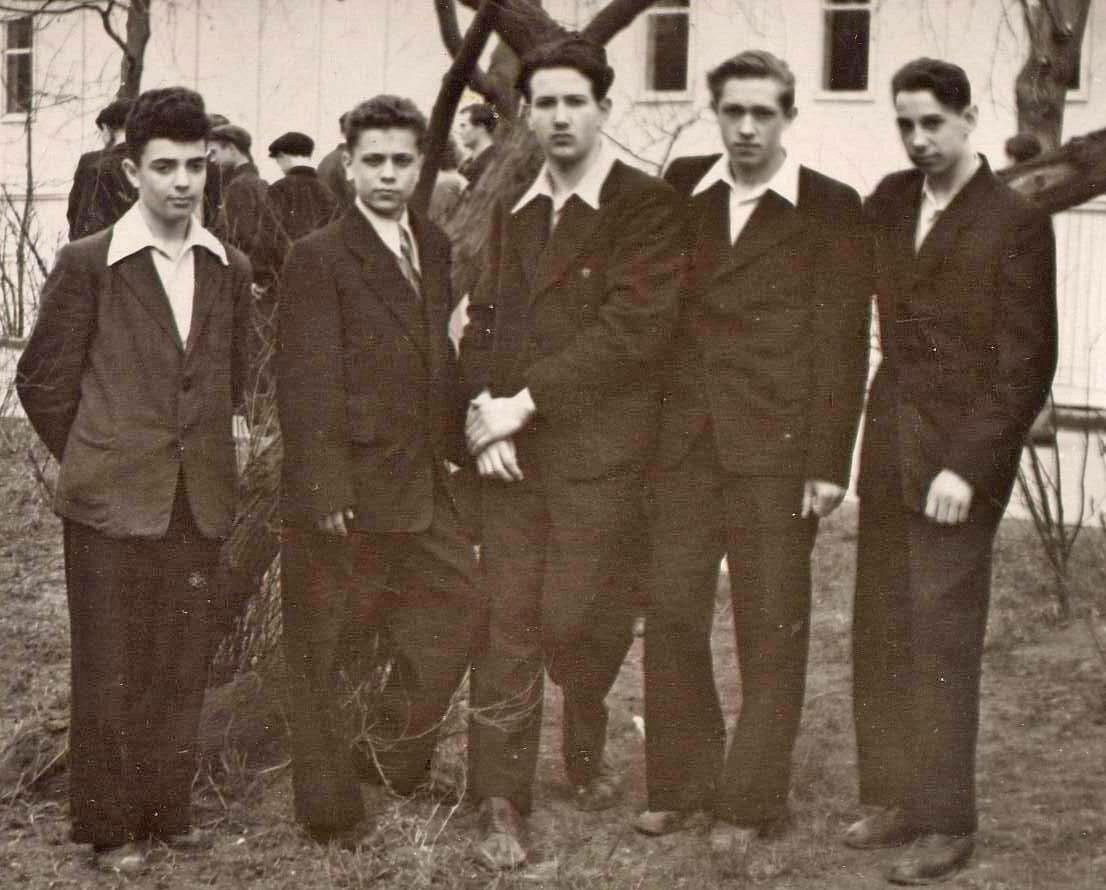 1956 год. 9 класс, школа №34