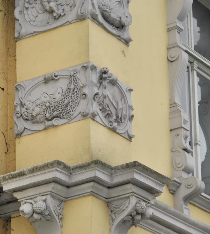 Декор замка в Ольденбурге
