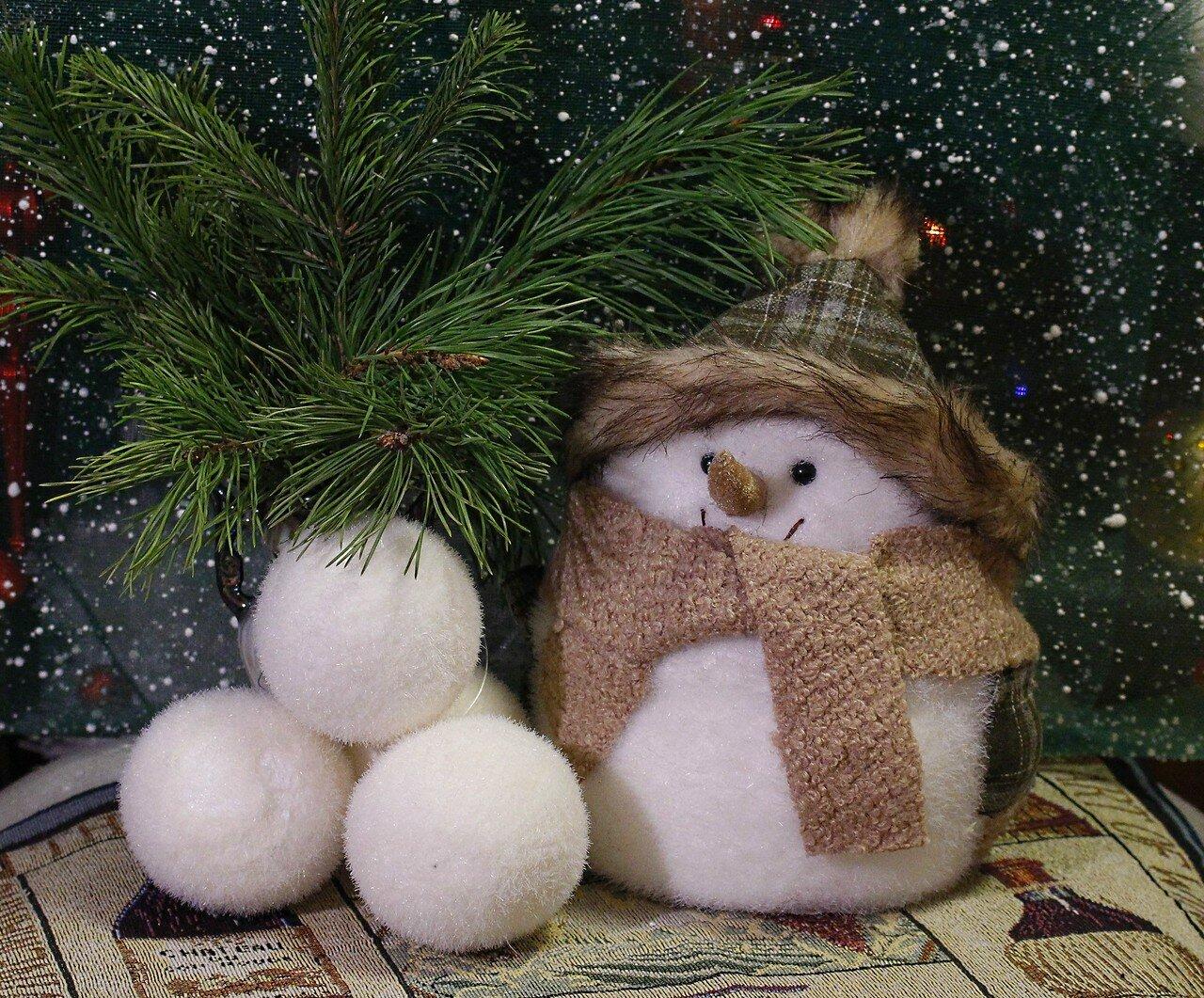 Поиграй со мной в снежки!)