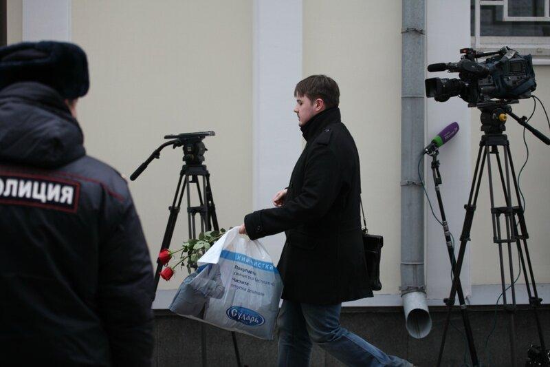 Посольство Бельгии, 22 марта 2016 года после терактов в Брюсселе