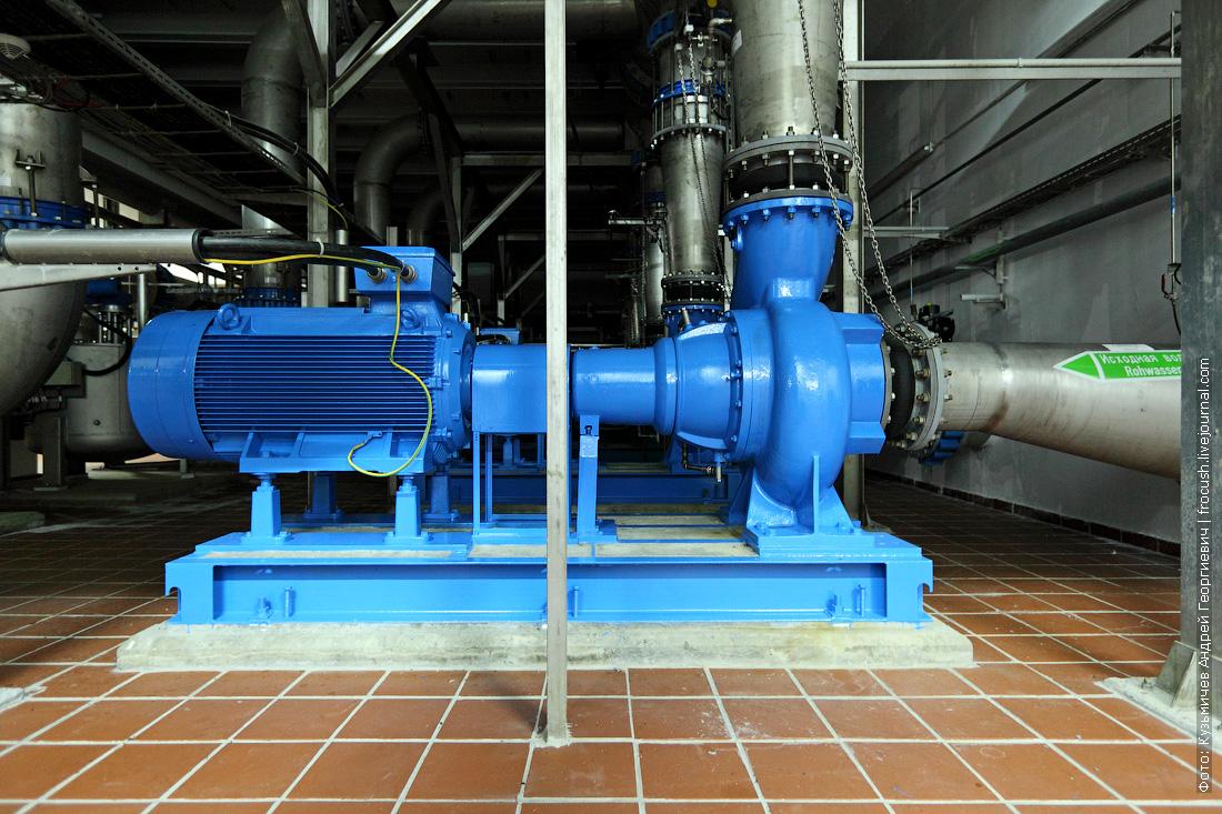 Юго-Западная станция водоподготовки трубопровод