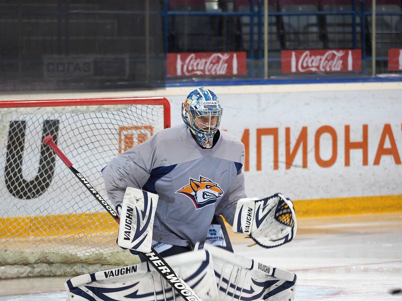 16Плей-офф 2016 Восток финал Металлург - Салават Юлаев Открытая тренировка 21.03.2016