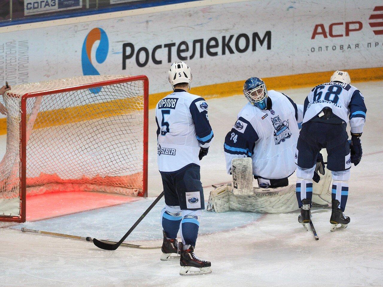 59Плей-офф МХЛ 2016 1/4 Стальные Лисы - Сибирские Снайперы 21.03.2016