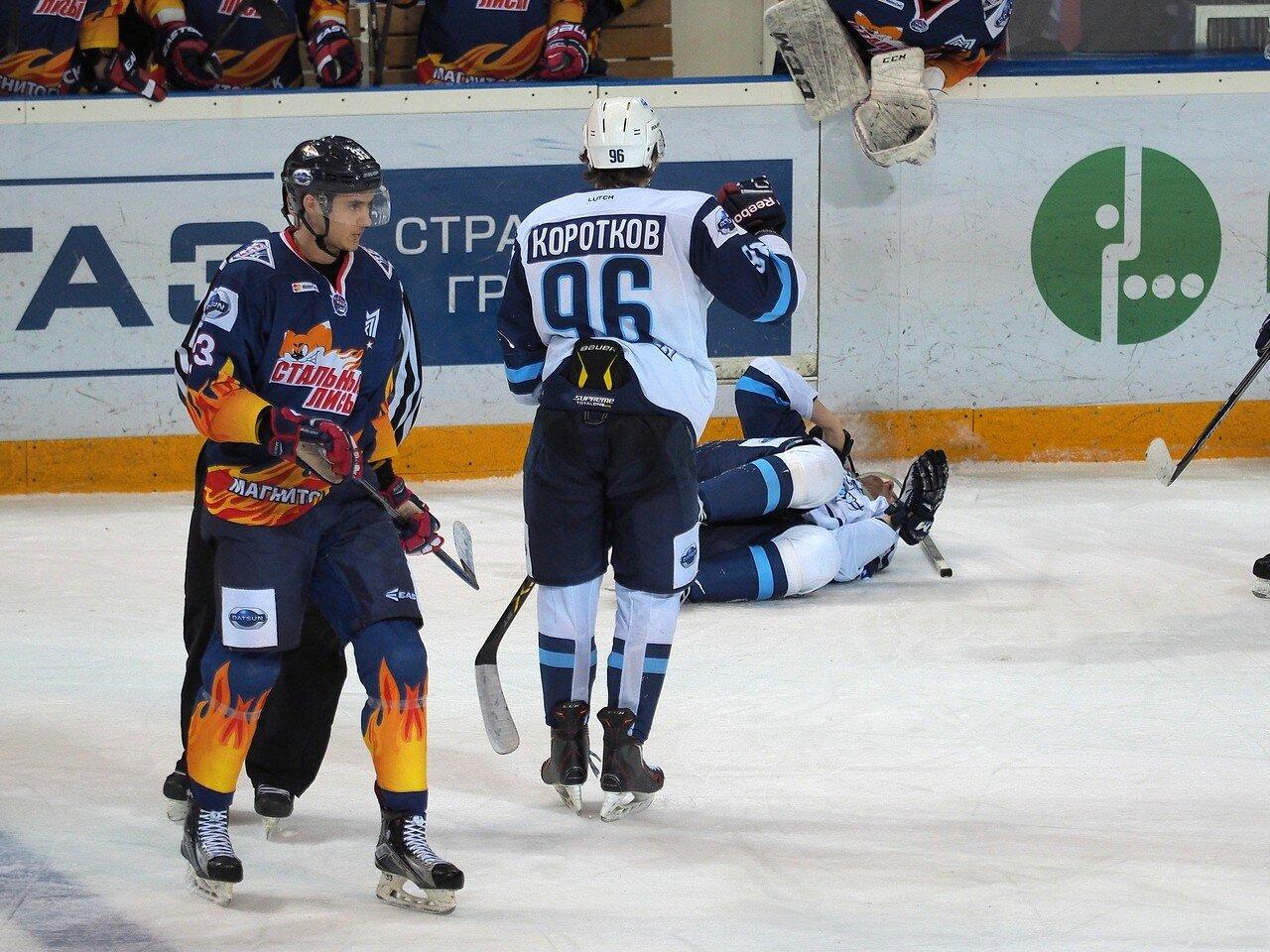 66Плей-офф МХЛ 2016 1/4 Стальные Лисы - Сибирские Снайперы 21.03.2016