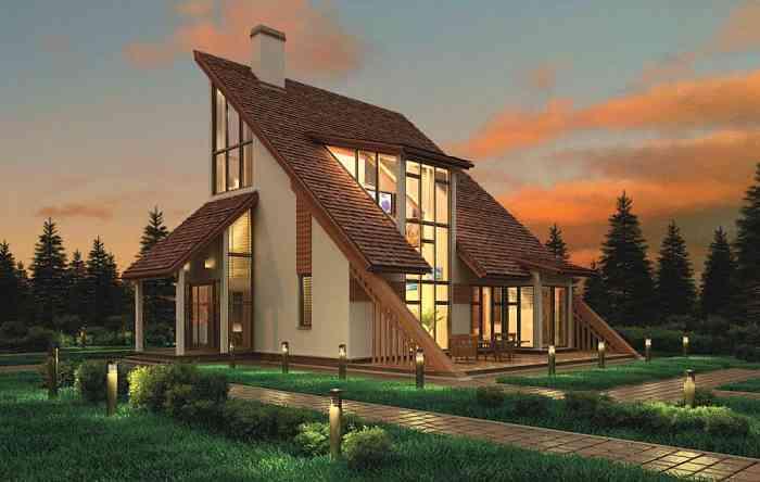 Заказывайте каркасные дома и коттеджи в Украине на artmetall.ua