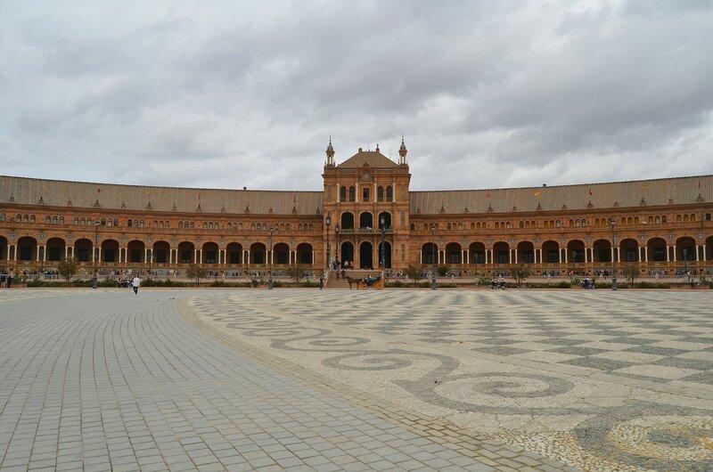 Площадь в Севилье