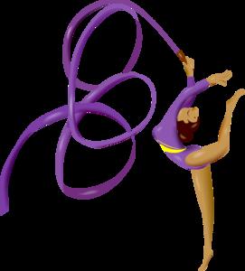гимнастика с лентой