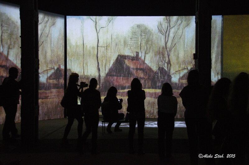 мульмедийная выставка «Ван Гог. Ожившие полотна»