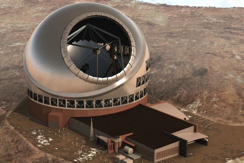 Самый большой в мире телескоп на Гавайях. Фотографии