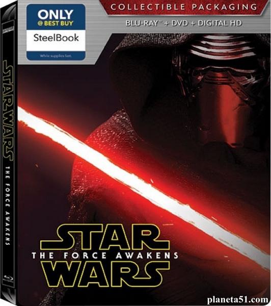 Звёздные войны: Пробуждение силы / Star Wars: The Force Awakens (2015/ВDRip/HDRip)