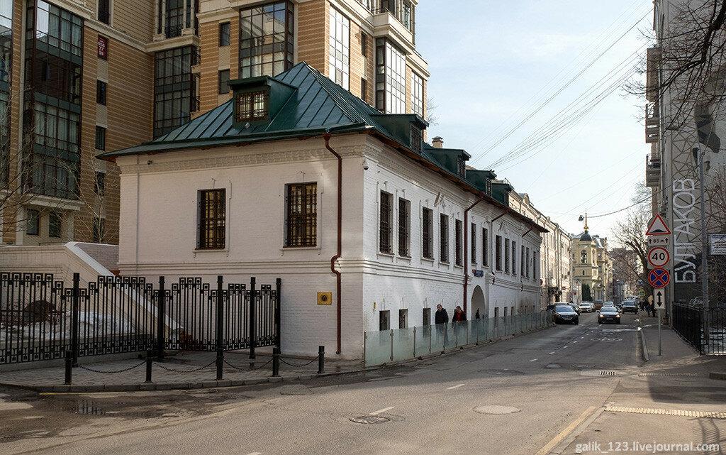 Moscow. Bolshoy Afanasyevsky lane