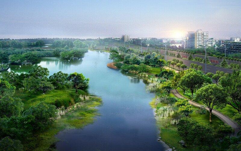Красивые китайские пейзажи. Фотографии природы Китая, похожей на картины 0 1c4d47 94bf022b XL