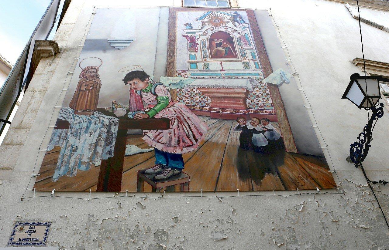 Leiria. Area Francisco Rodrigues Lobo (Rua Francisco Rodrigues Lobo)