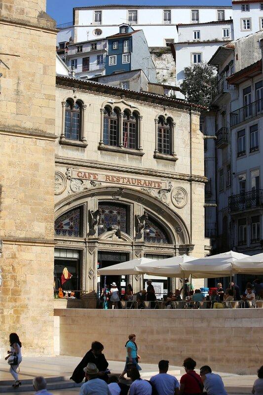 Коимбра. Площадь 8 мая (Praça 8 de Maio)