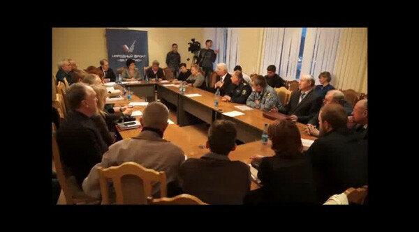 17 марта 2016 года. Круглый стол ОНФ