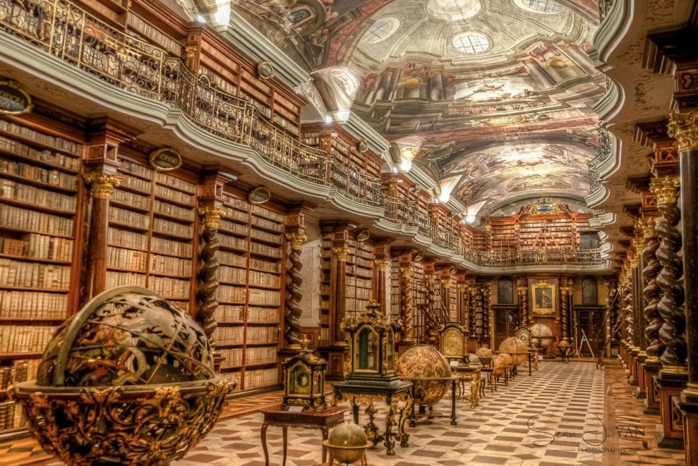 25библиотек мира, откоторых захватывает дух (24 фото)