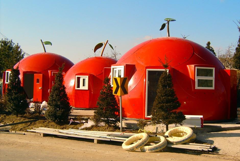 Проект Оmnidome Еще один серийный проект купольного дома под названием Domehouse придумали южнокорей