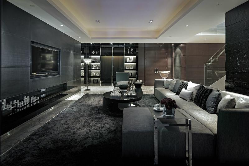 Черный цвет в дизайне интерьера фото 9