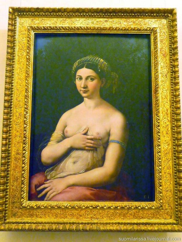 """Raffaello """"La Fornarina"""" (1518-1519)"""
