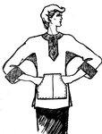 Хотите сшить блузон свободного кроя?