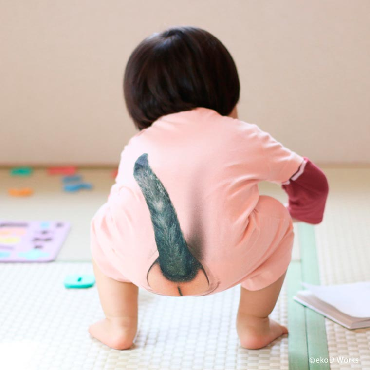 Neko Rompers - This strange Japanese romper adds a cat tail to your baby
