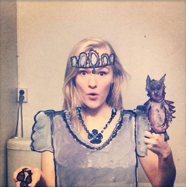Funny Selfies by Helene Meldahl