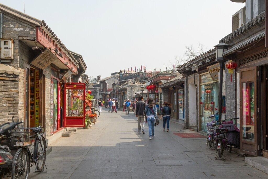 Улица Яньдай, Шичахай, Пекин