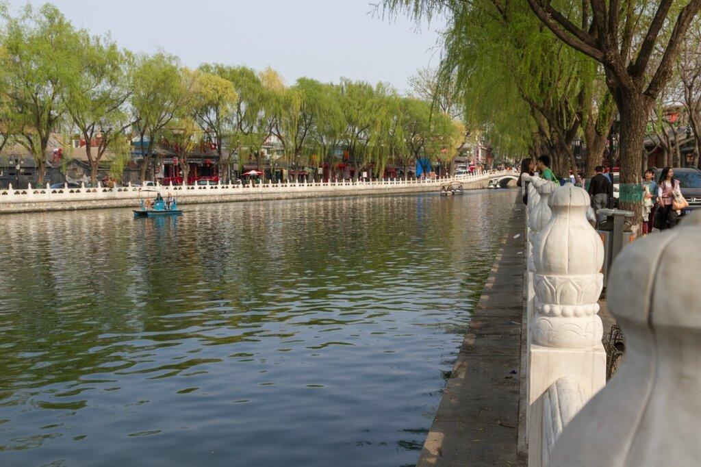 Сужение озера Хоухай, Шичахай, Пекин