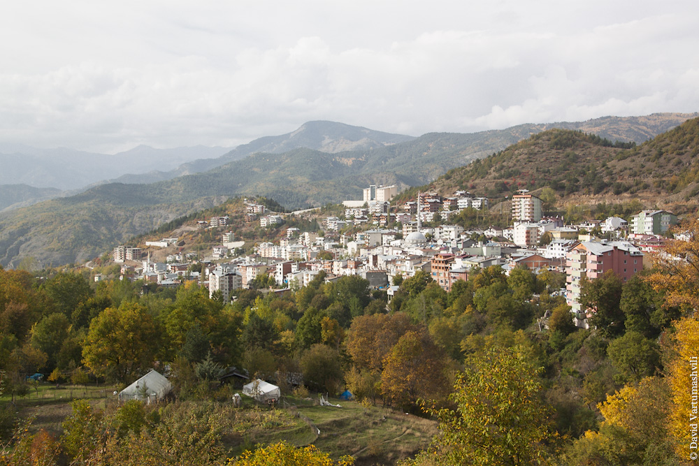 Турция, по дороге из Артвина в Ардаган