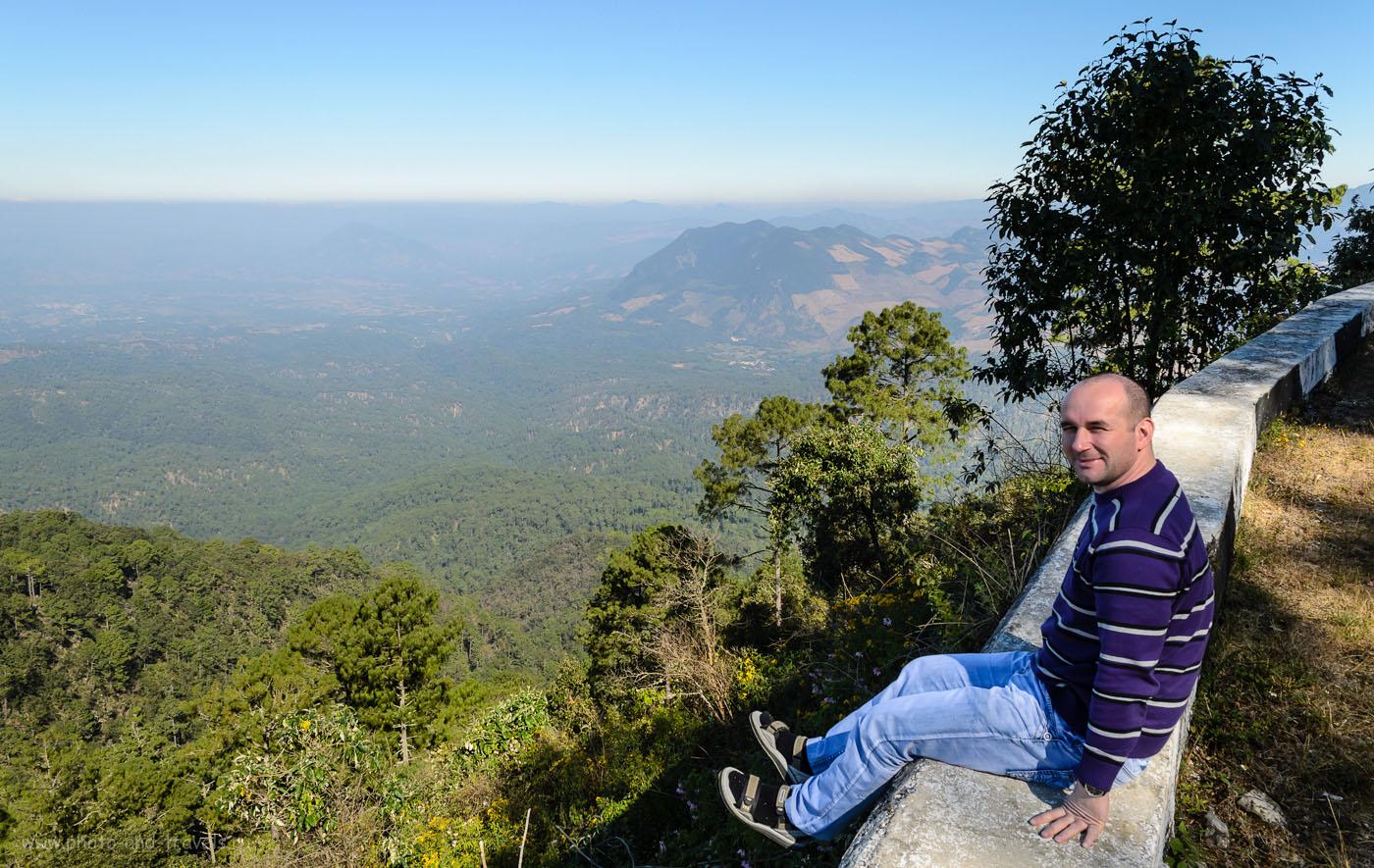Фото 3. В горах Сьерра-Мадре-де-Чьяпас  в Мексике. Отчет об экскурсии в каньон Сумидеро (El Cañón del Sumidero)