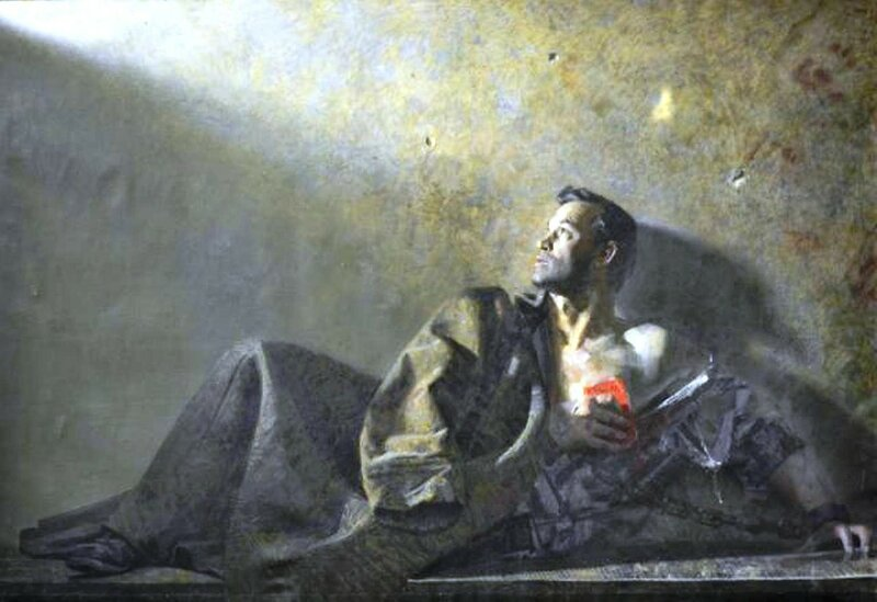 Китаев А.И. - Муса Джалиль в Моабитской тюрьме. 1965. Холст, масло. ГМИИ РТ.preview.jpg