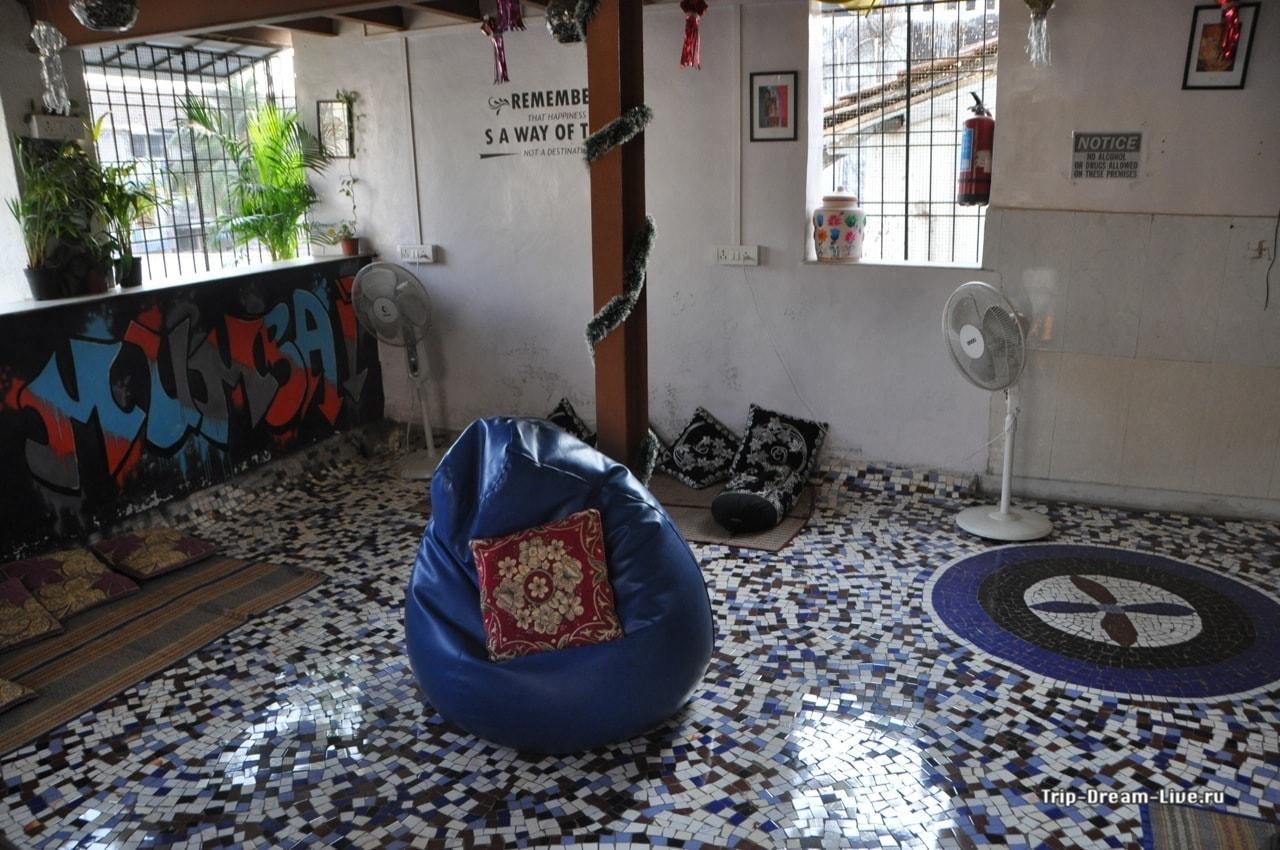 Чилаут в Travellers Inn в Мумбаи