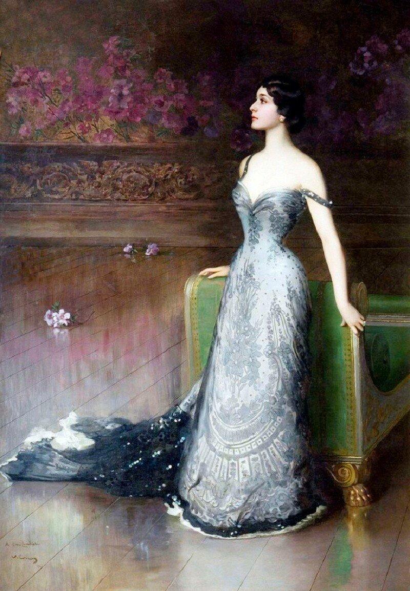 Лина Кавальери, 1903.