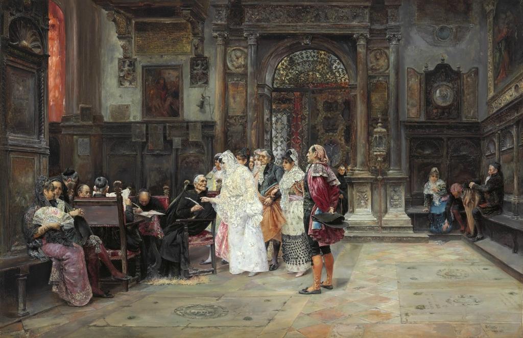 1889 В день свадьбы Частное собрание