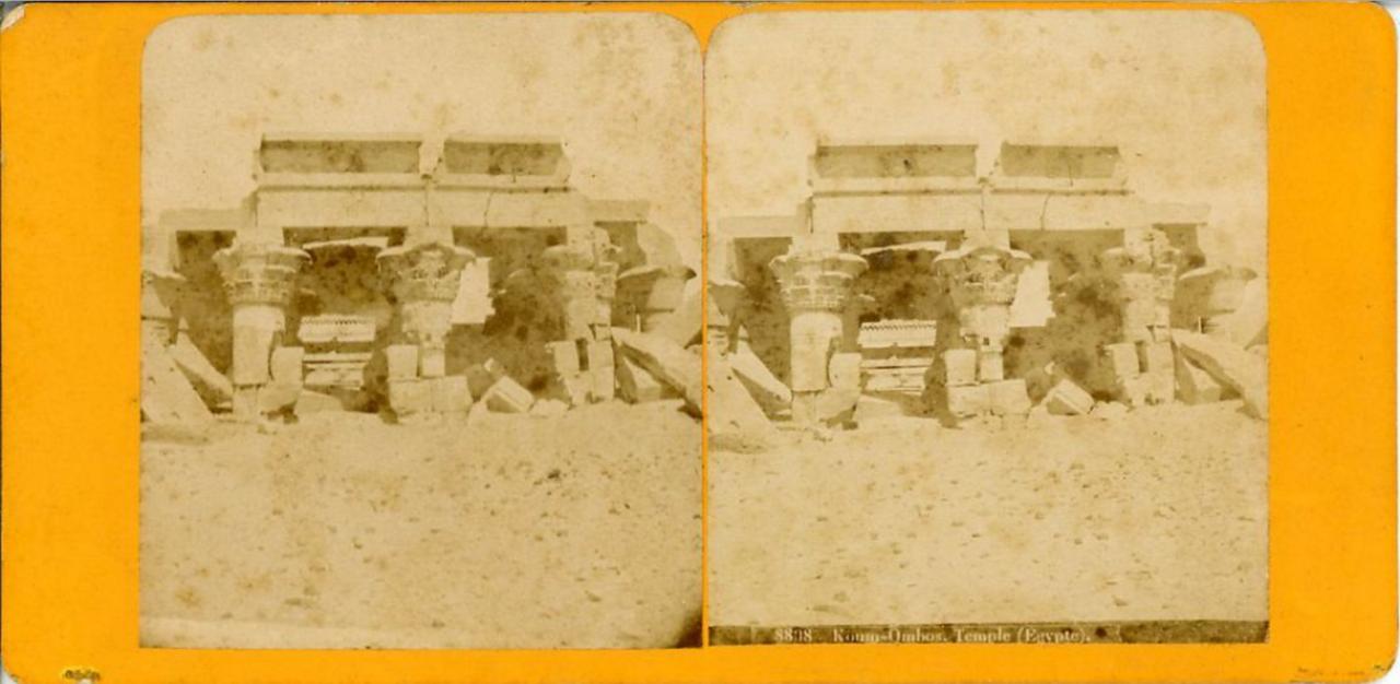 Храм Себека и Гора. 1870-е